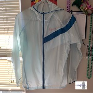 Baby blue Nike jacket